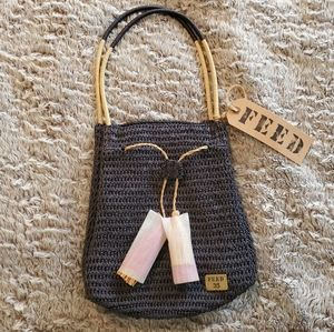 FEED Project Blue Bag NWT